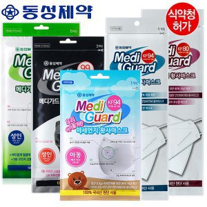 Product Image of the 메디가드 KF94 황사마스크