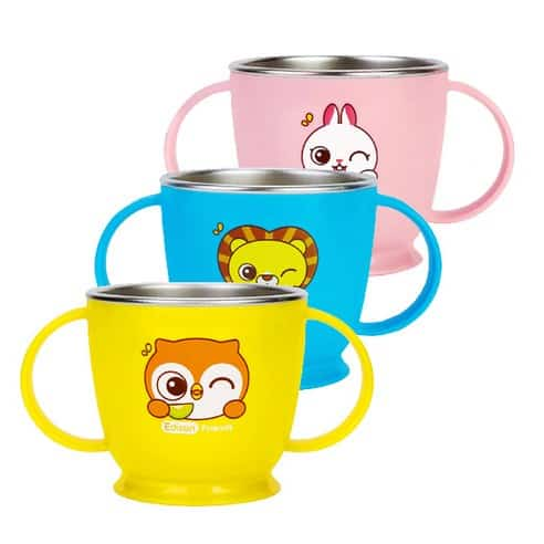 Product Image of the 에디슨  프렌즈 논슬립 스텐 양손컵