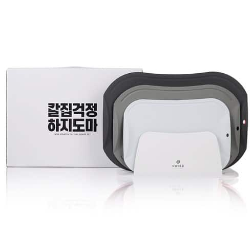 Product Image of the 도블레 칼집나지 않는 도마세트