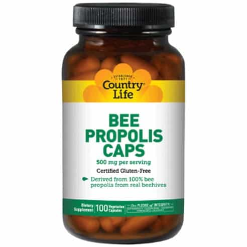Product Image of the Country Life 비 프로폴리스 캡 500 mg
